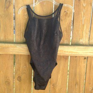 Miraclesuit Swim - Miraclesuit One Piece Crinkle Black Swimsuit Sz 12
